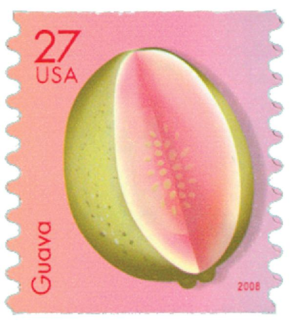 2008 27c Tropical Fruit: Guava, coil