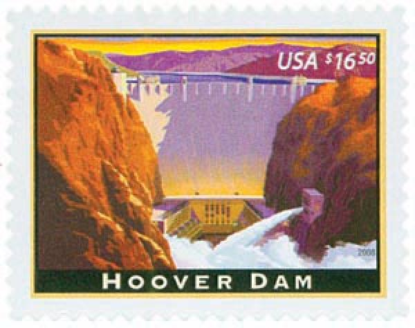 2008 $16.50 Hoover Dam, Express Mail