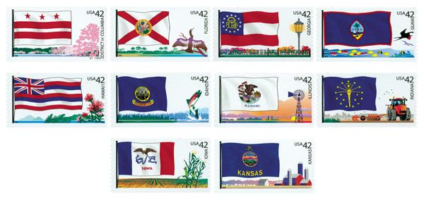 2008 42c Flags of Our Nation: 2nd Edition