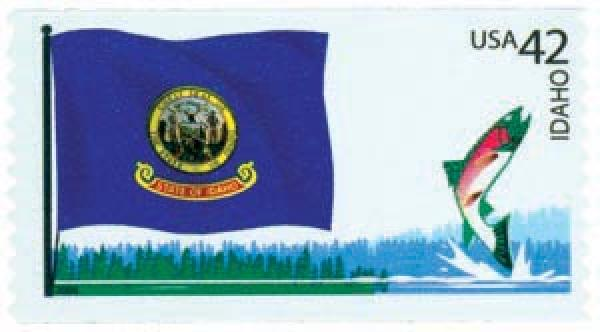2008 42c Flags of Our Nation: Idaho