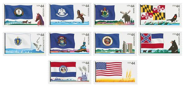 2009 44c Flags of Our Nation: 3rd Edition