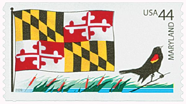 2009 44c Flags of Our Nation: Maryland