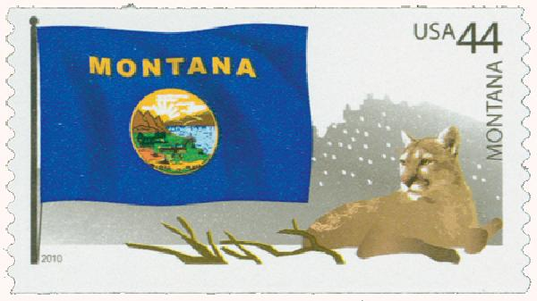 2010 44c Flags of Our Nation: Montana