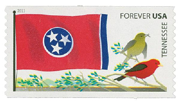 2011 First-Class Forever Stamp -  Flags of Our Nation: Tennessee