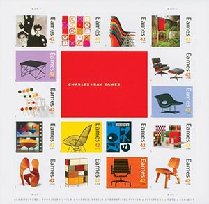 2008 42c Charles and Ray Eames