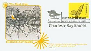 2008 42c Eames, Mesh Chair