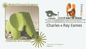 2008 42c Eames, Laminated Wood Sculpture