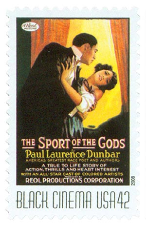 2008 42c Vintage Black Cinema: The Sport of the Gods