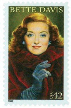 2008 42c Legends of Hollywood: Bette Davis