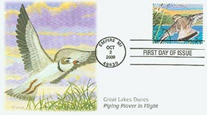 2008 42c Gr. Lakes Dunes Piping Plover