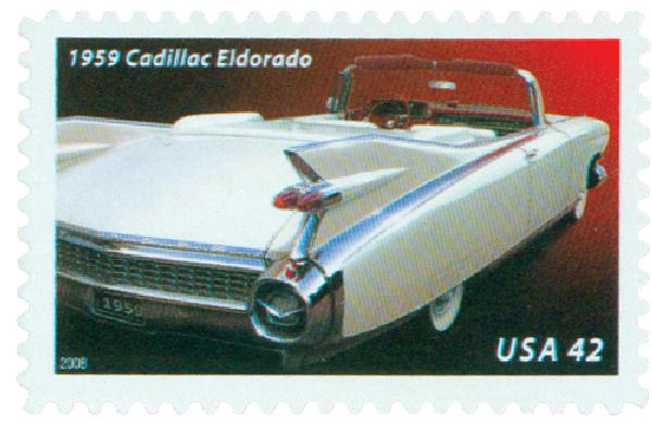 2008 42c Fins and Chrome: 1959 Cadillac Eldorado