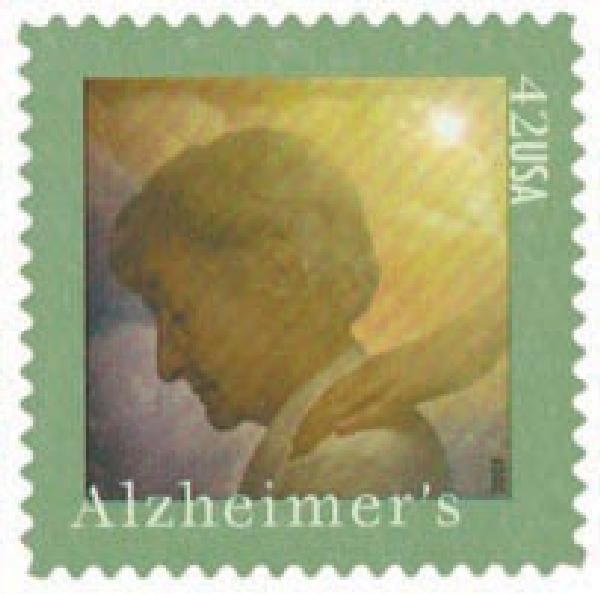 2008 42c Alzheimers Awareness