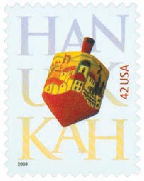 2008 42c Hanukkah