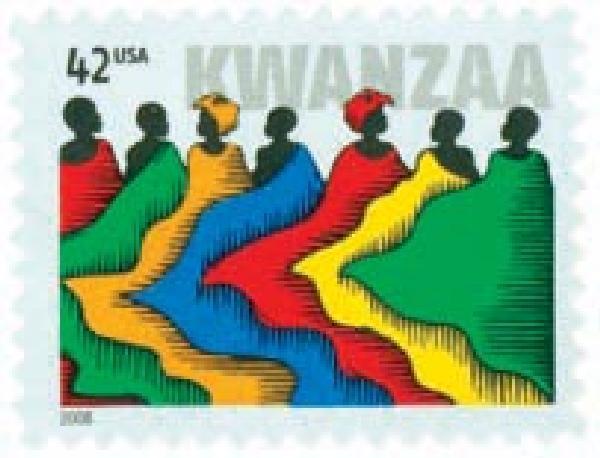 2008 42c Kwanzaa