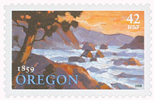 2009 42c Oregon Statehood
