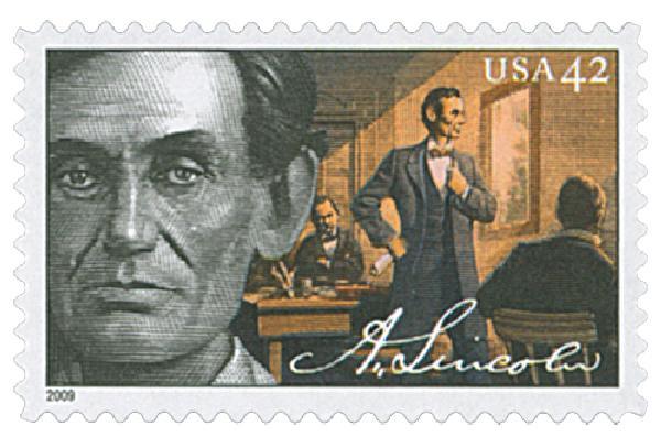 2009 42c Abraham Lincoln: Lawyer