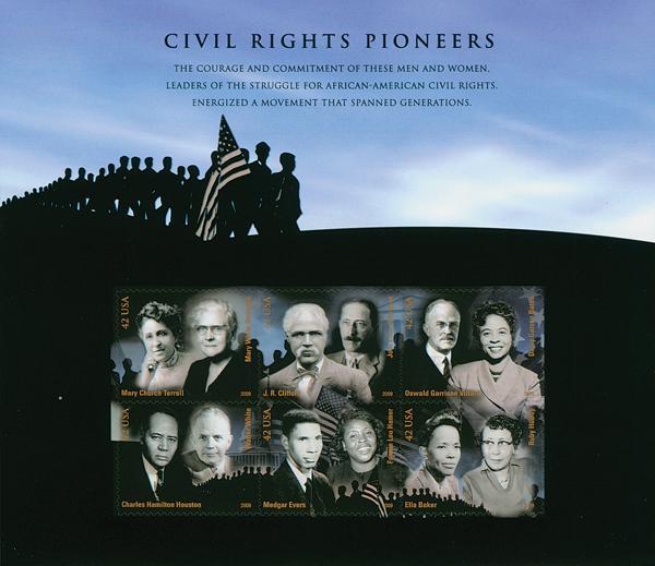 Civil Rights Pioneers sheet