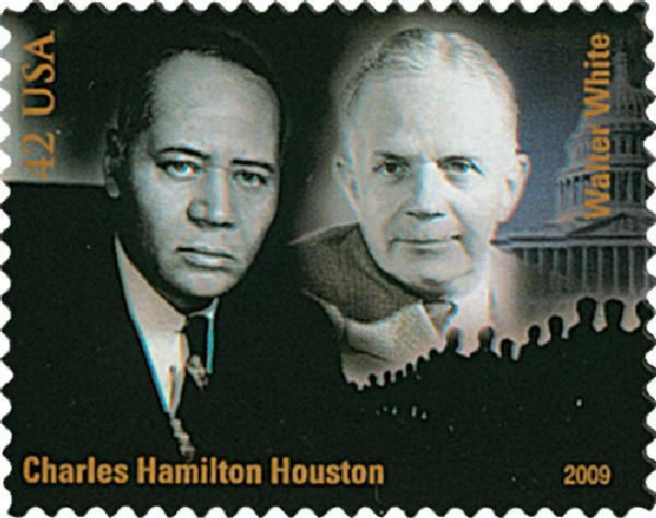 2009 42c Civil Rights-Houston/White