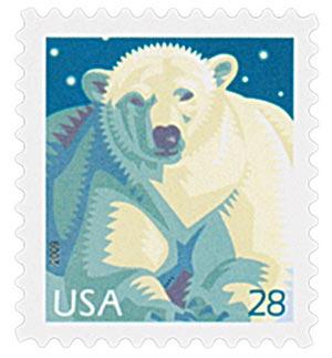 2009 28c Polar Bear
