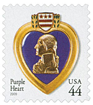 2009 44c Purple Heart