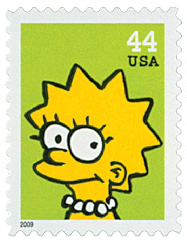 2009 44c The Simpsons: Lisa