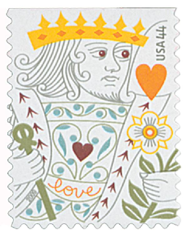 2009 44c Love - King of Hearts