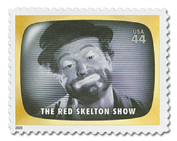 2009 44c Early TV Memories: The Red Skeleton Show