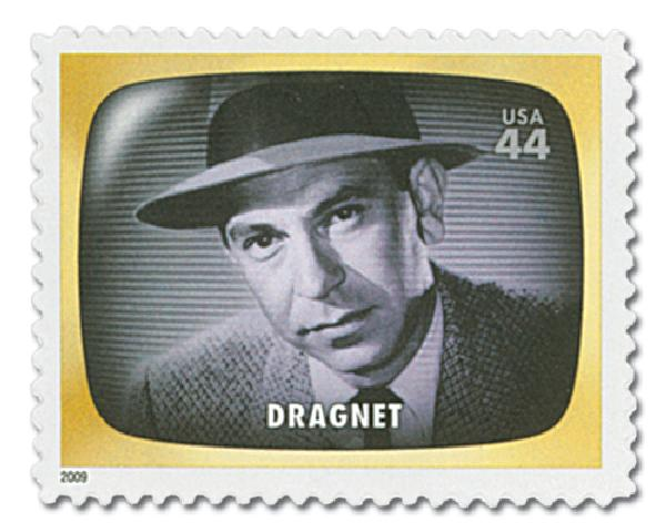 2009 44c Early TV Memories: Dragnet
