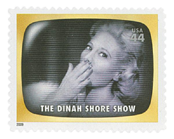 2009 44c Early TV Memories: The Dinah Shore Show