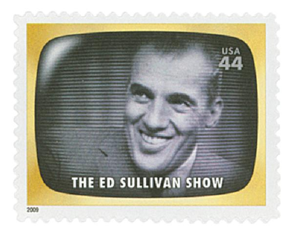 2009 44c Early TV Memories: The Ed Sullivan Show