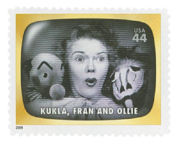 2009 44c Early TV Memories: Kukla, Fran and Ollie