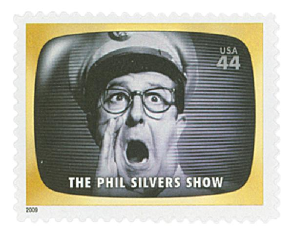 2009 44c Early TV Memories: The Phil Silvers Show