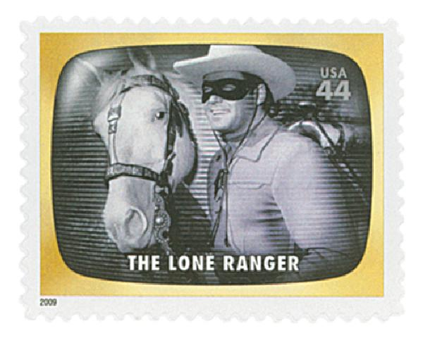 2009 44c Early TV Memories: The Lone Ranger