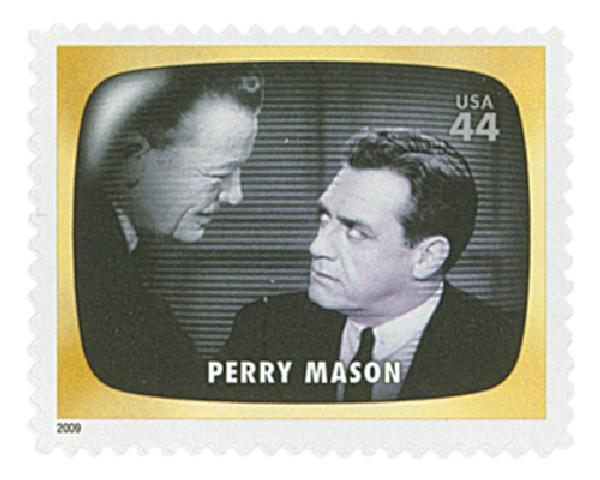 2009 44c Early TV Memories: Perry Mason