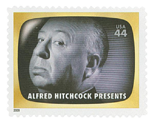2009 44c Early TV Memories: Alfred Hitchcock Presents