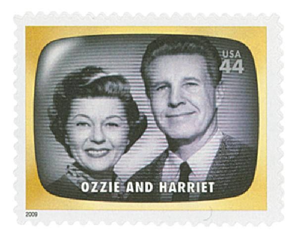 2009 44c Early TV Memories: Ozzie and Harriet