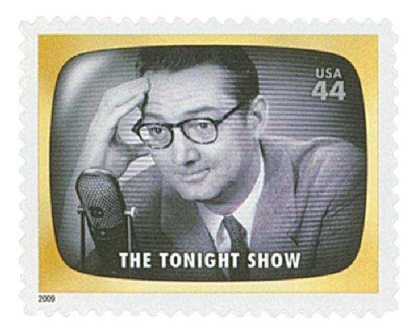 2009 44c Early TV Memories: The Tonight Show