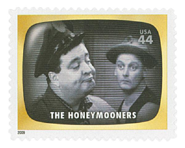 2009 44c Early TV Memories: The Honeymooners