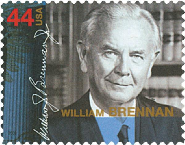 2009 44c Supreme Court Justices: William Brennan