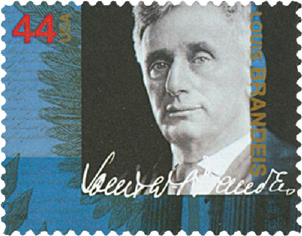 2009 44c Supreme Court Justices: Louis Brandeis