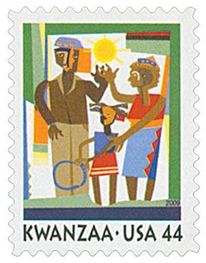 2009 44c Kwanzaa