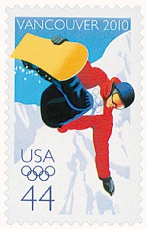 2010 44c Vancouver Winter Olympics