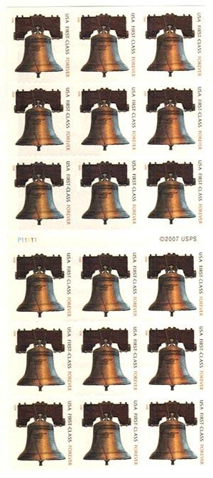 2010 44c Forever Liberty Bell ATM Bklt