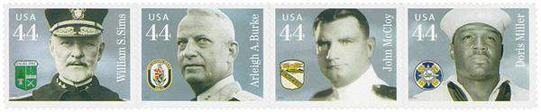 2010 44c Distinguished Sailors