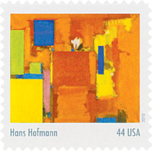 2010 44c Abstract Expressionist: Hans Hofmann