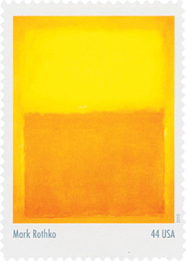2010 44c Abstract Expressionist: Mark Rothko