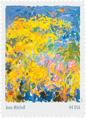 2010 44c Abstract Expressionist: Joan Mitchell