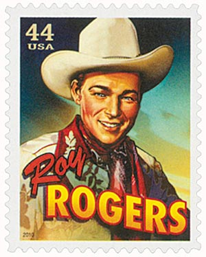 2010 44c Cowboys of the Silver Screen - Roy Rogers
