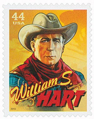 2010 44c Cowboys of the Silver Screen - William S. Hart