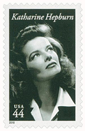 2010 44c Legends of Hollywood: Katharine Hepburn
